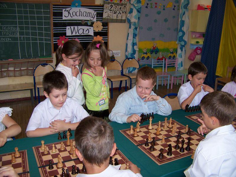 I Turniej Szachowy o Mistrzostwo Przedszkola Miejskiego Nr 6 w Świdnicy,17.06.2009