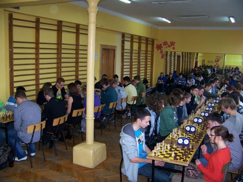 Turniej Szachowy o Mistrzostwo I Liceum Ogólnokształcącego w Świdnicy, 20.12.2011