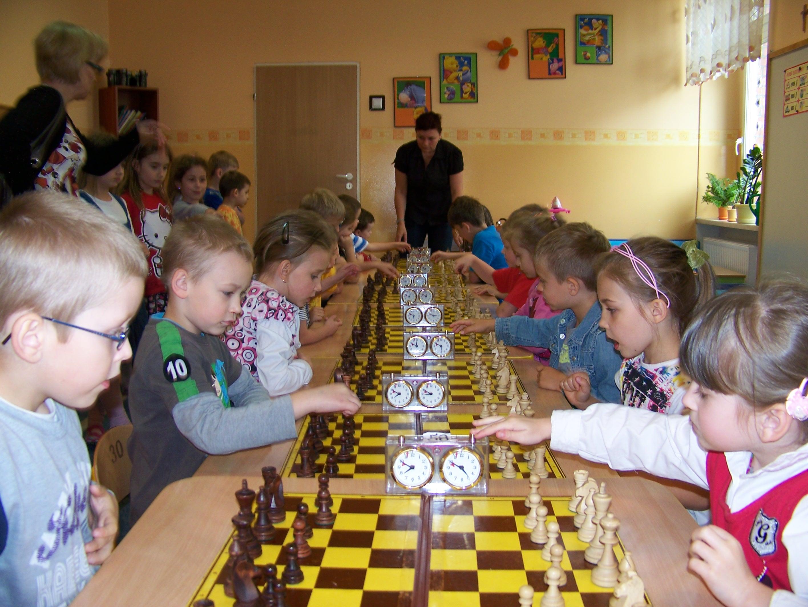 II Szachowe Mistrzostwa Przedszkola Miejskiego Nr 4, Świdnica, 06.06.2012
