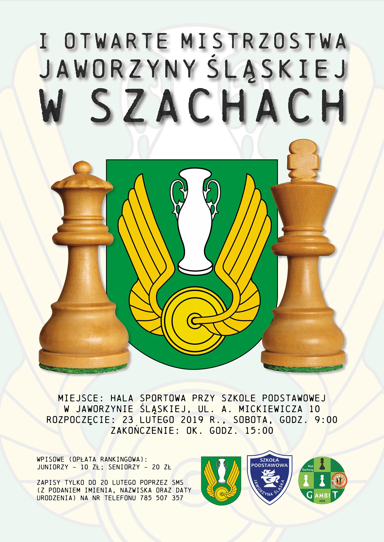 I Otwarte Mistrzostwa Jaworzyny Śląskiej w Szachach, 23.02.2019