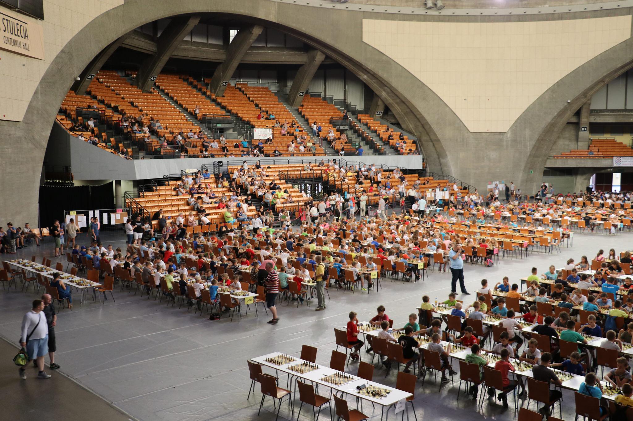 Mistrzostwa Polski Juniorów w Szachach Szybkich i Błyskawicznych, Wrocław, 06-09.08.2017