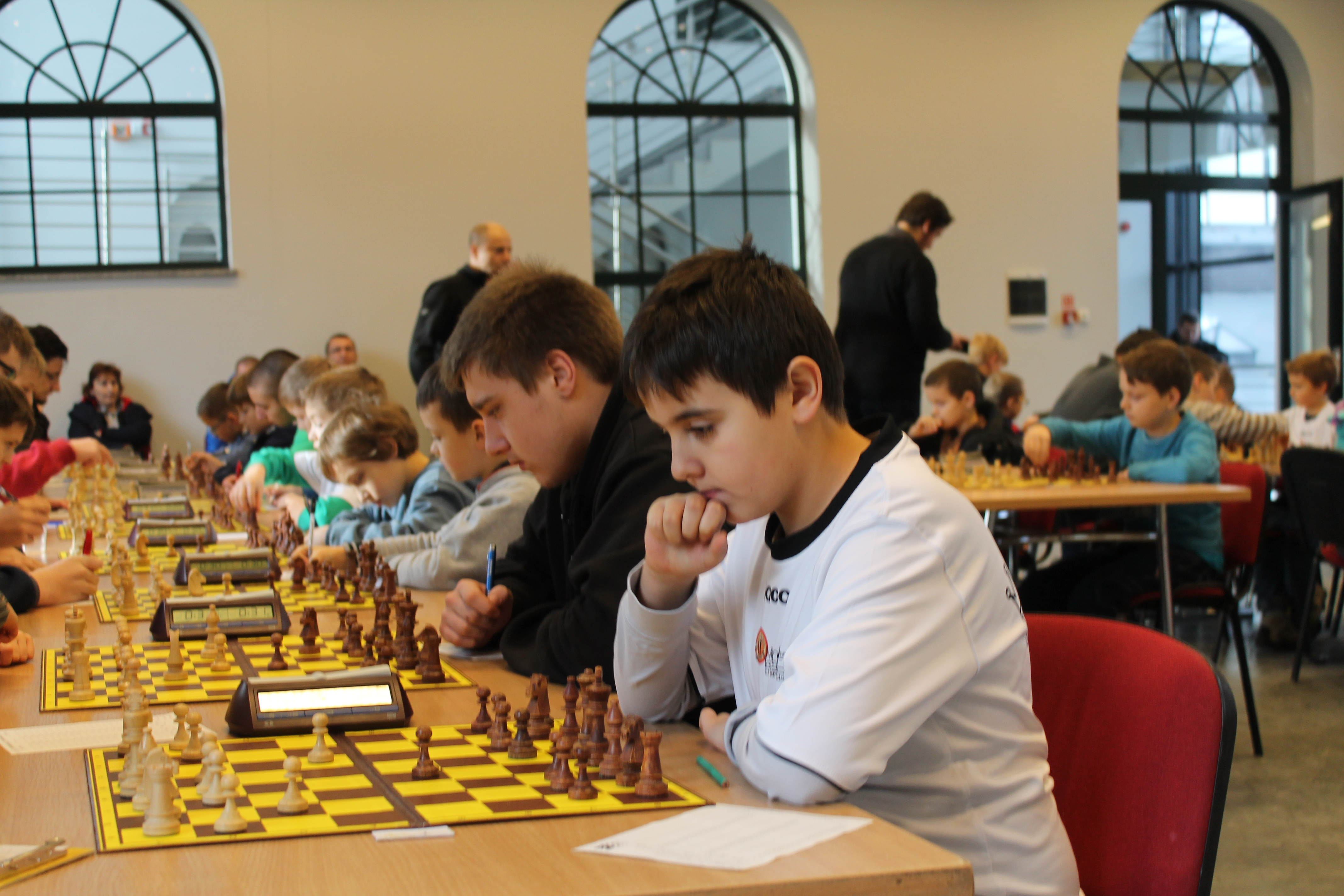 Klasyfikacyjny Turniej Szachowy w Starej Kopalni, Wałbrzych, 13-14.12.2014