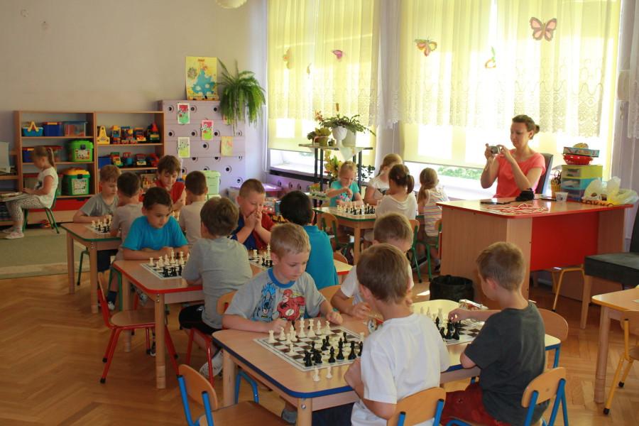 I Mistrzostwa Przedszkola Miejskiego Nr 15 w Szachach, Świdnica, 18.06.2013