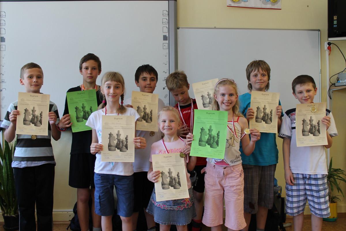 Turniej Szachowy o Mistrzostwo Szkoły Podstawowej Nr 105, Świdnica, 19.06.2013