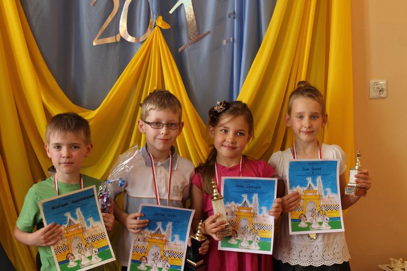III Turniej Szachowy Przedszkolaków o Mistrzostwo Świdnicy, 21.06.2013