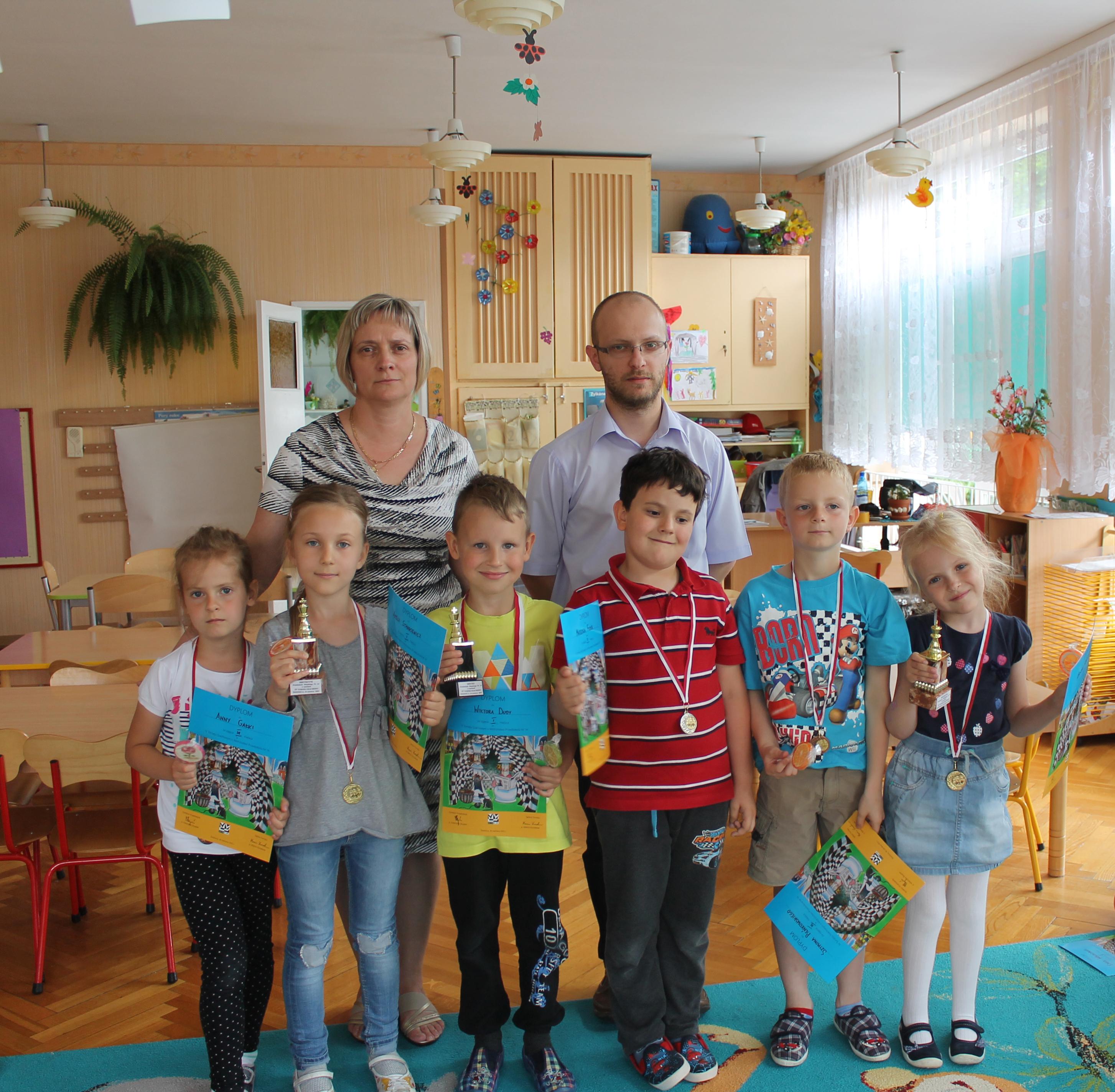 IV Turniej Szachowy o Mistrzostwo Przedszkola Miejskiego Nr 14, Świdnica, 16.06.2015