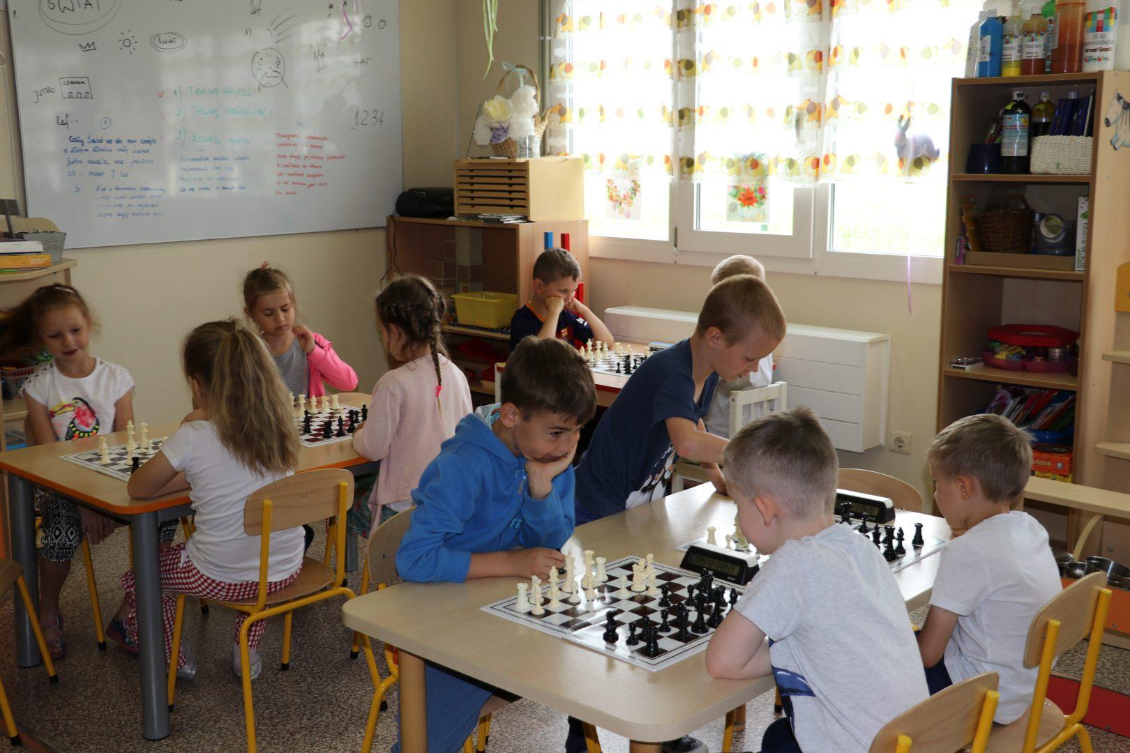 V Szachowe Mistrzostwa Przedszkola Frajda, Świdnica, 31.05.2017