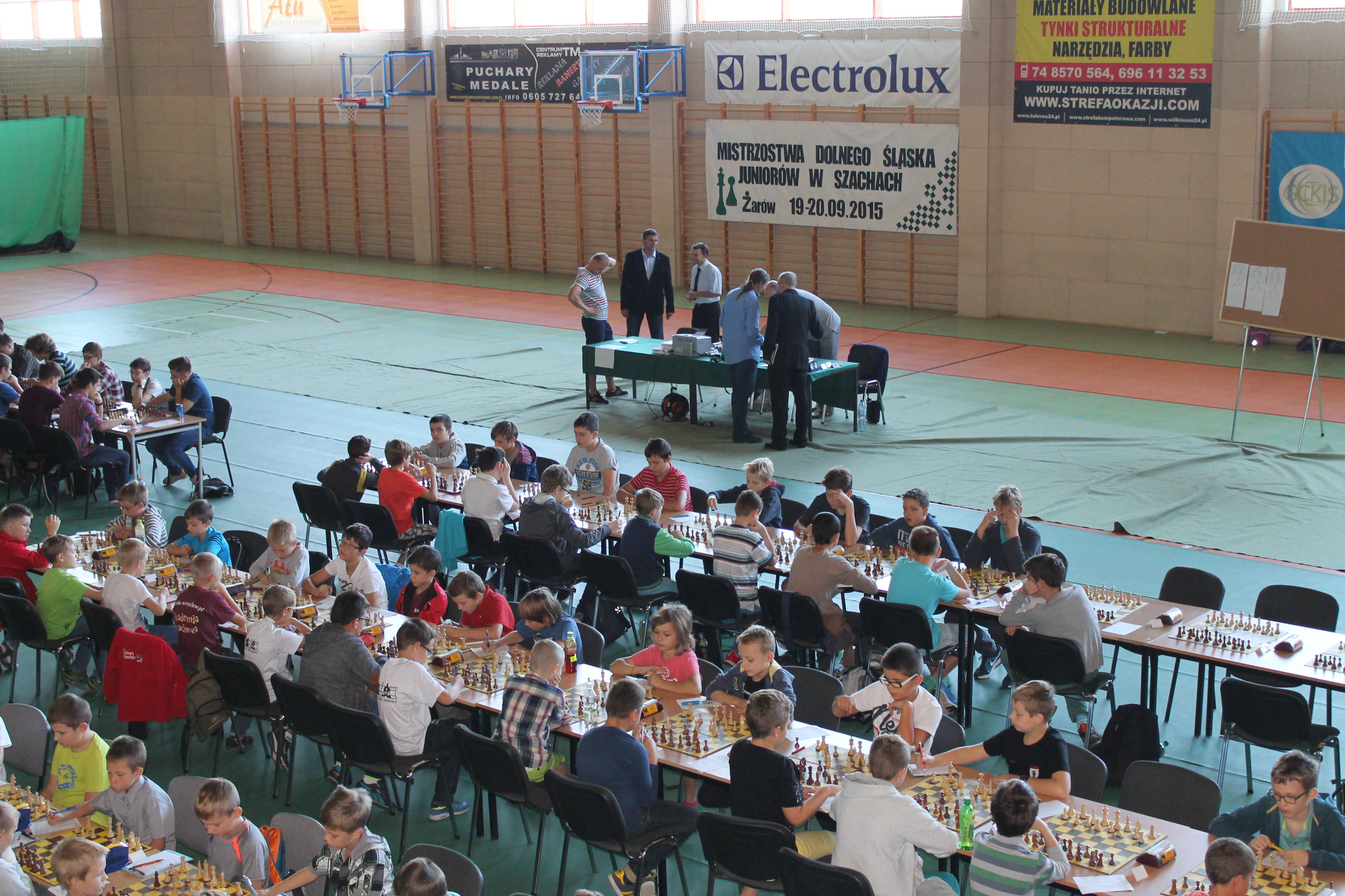 Mistrzostwa Dolnego Śląska Juniorów w szachach klasycznych, Żarów, 19-20.09.2015