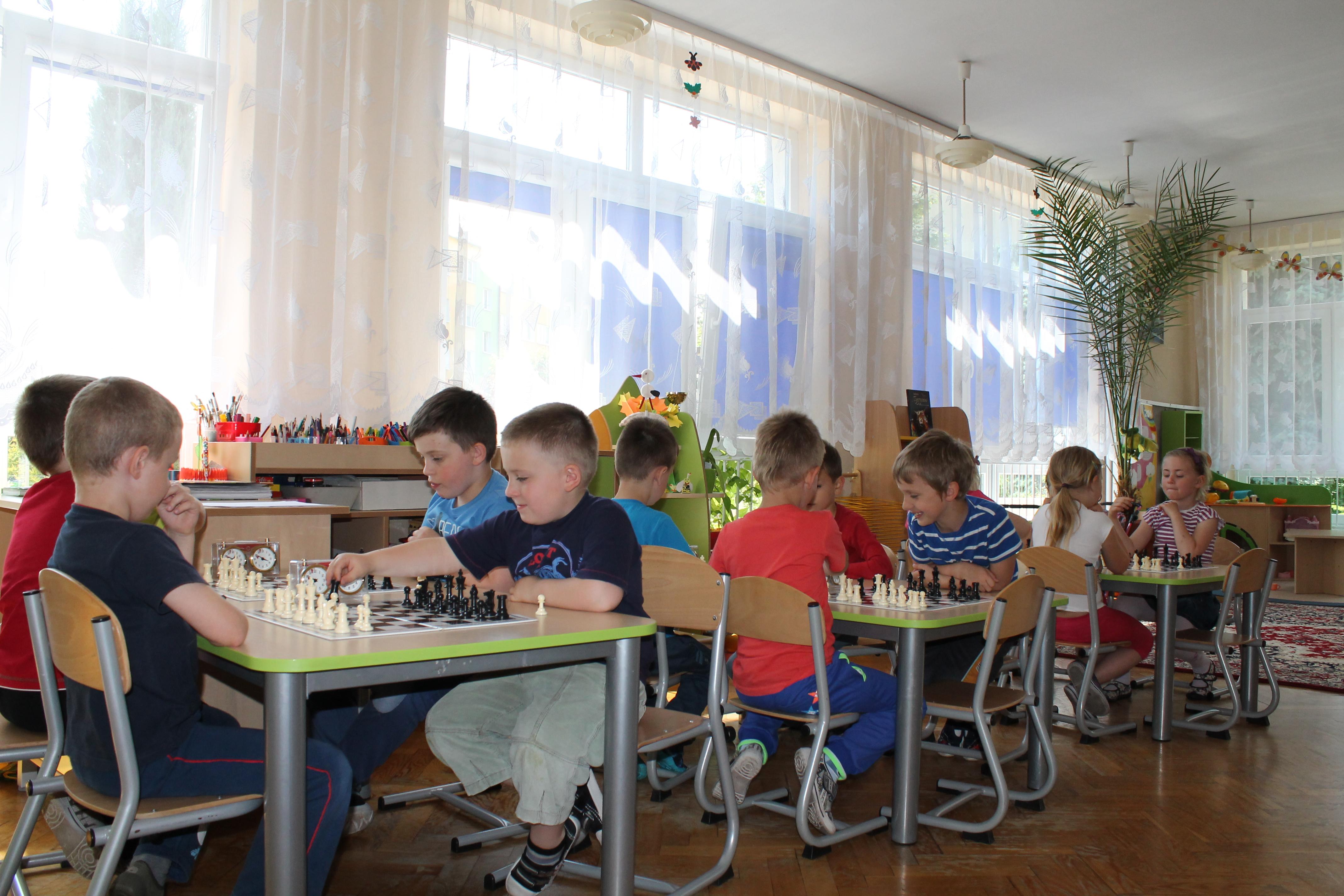 III Turniej Szachowy o Mistrzostwo Przedszkola Nr 14, Świdnica, 06.06.2014