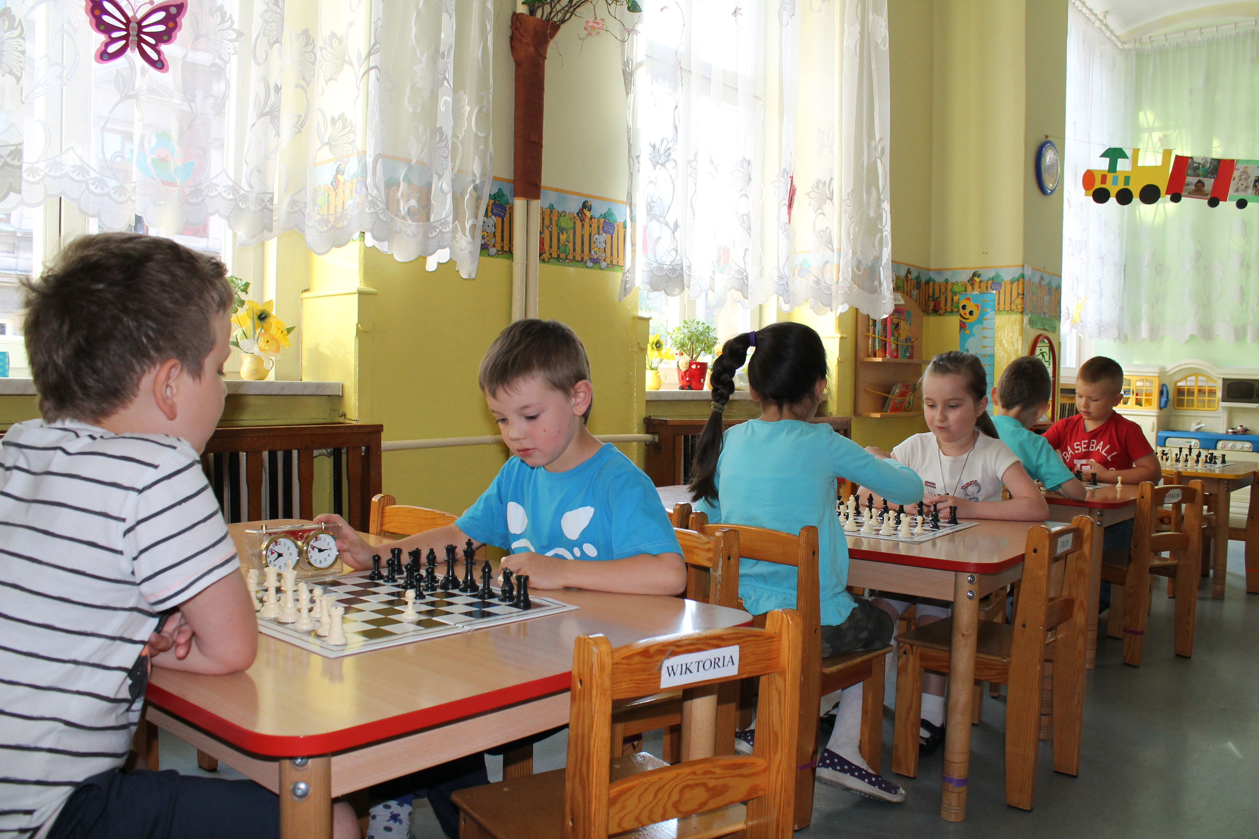 I Turniej Szachowy o Mistrzostwo Przedszkola Miejskiego Nr 1, Świdnica, 18.06.2014