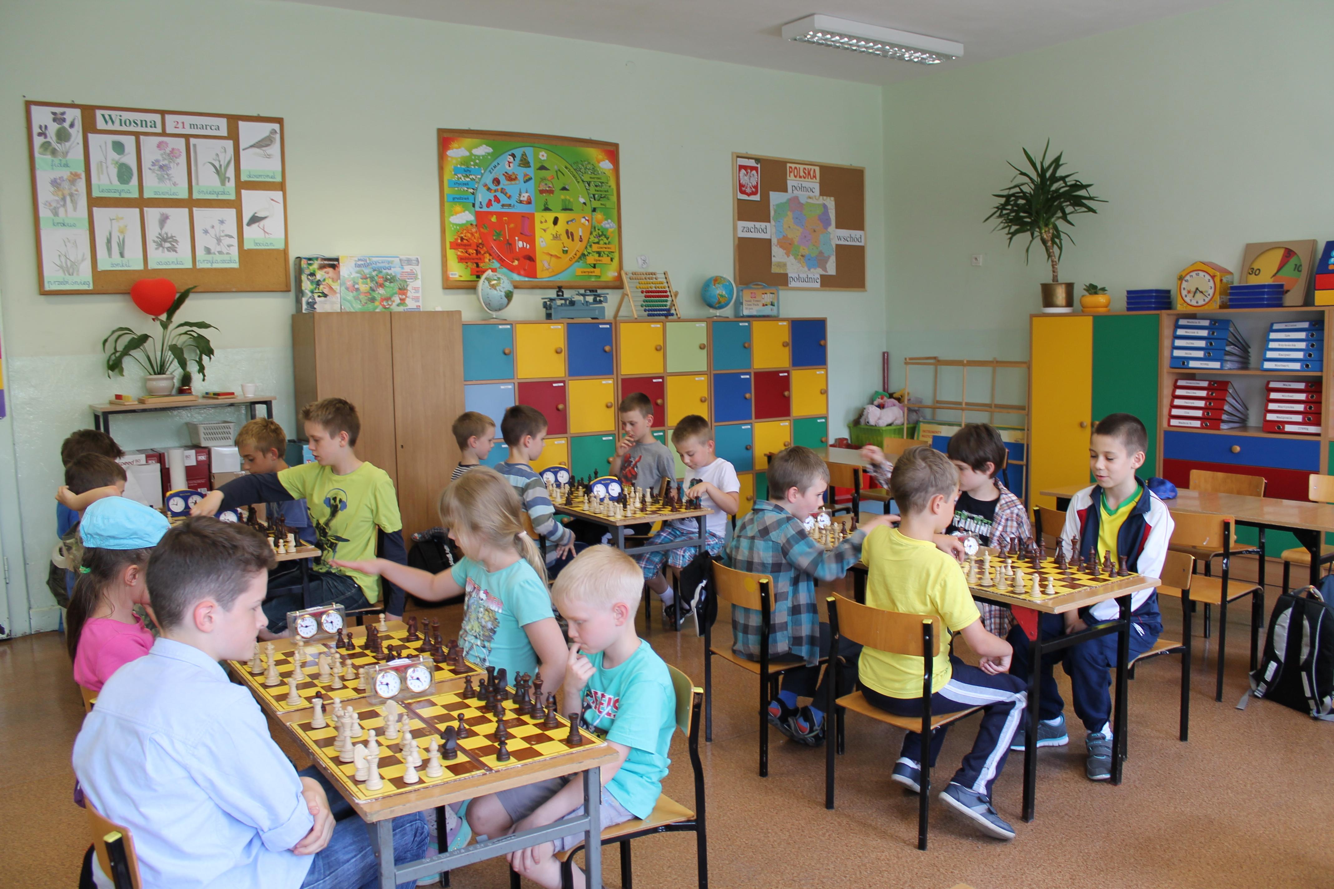 II Turniej Szachowy o Mistrzostwo Szkoły Podstawowej Nr 105, Świdnica, 18.06.2014