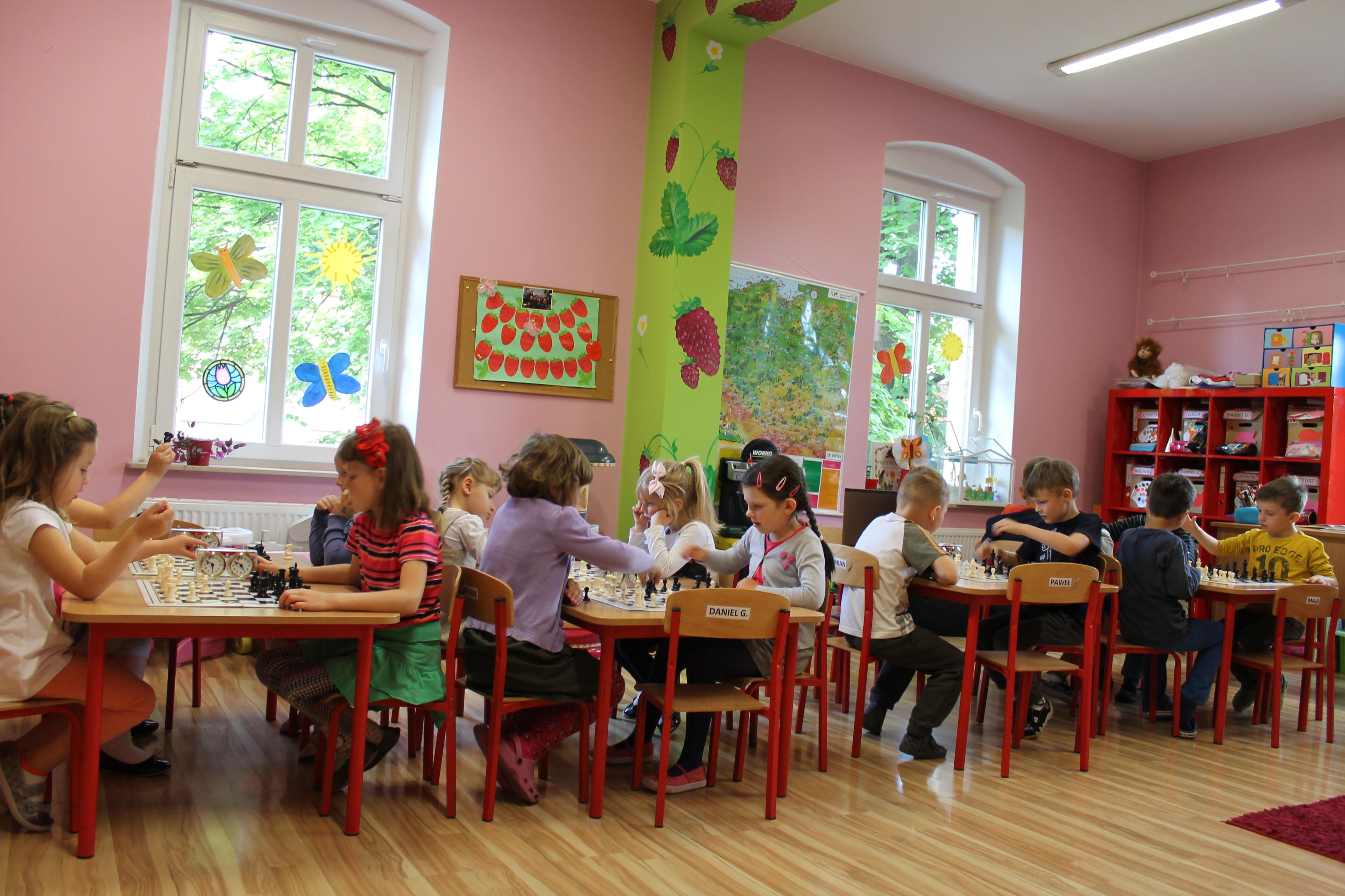 IV Turniej Szachowy o Mistrzostwo Przedszkola Europejska Akademia Dziecka, Świdnica, 23.06.2014