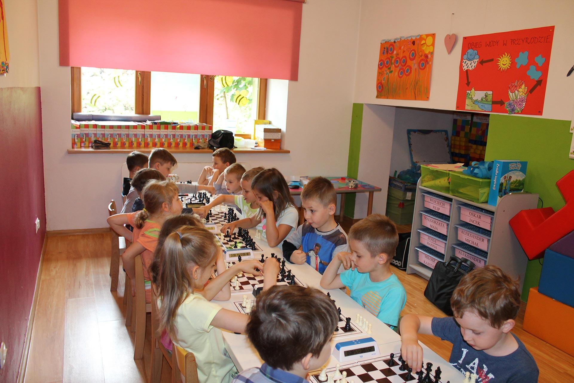 II Szachowe Mistrzostwa Przedszkola Abracadabra, Świdnica, 13.06.2016