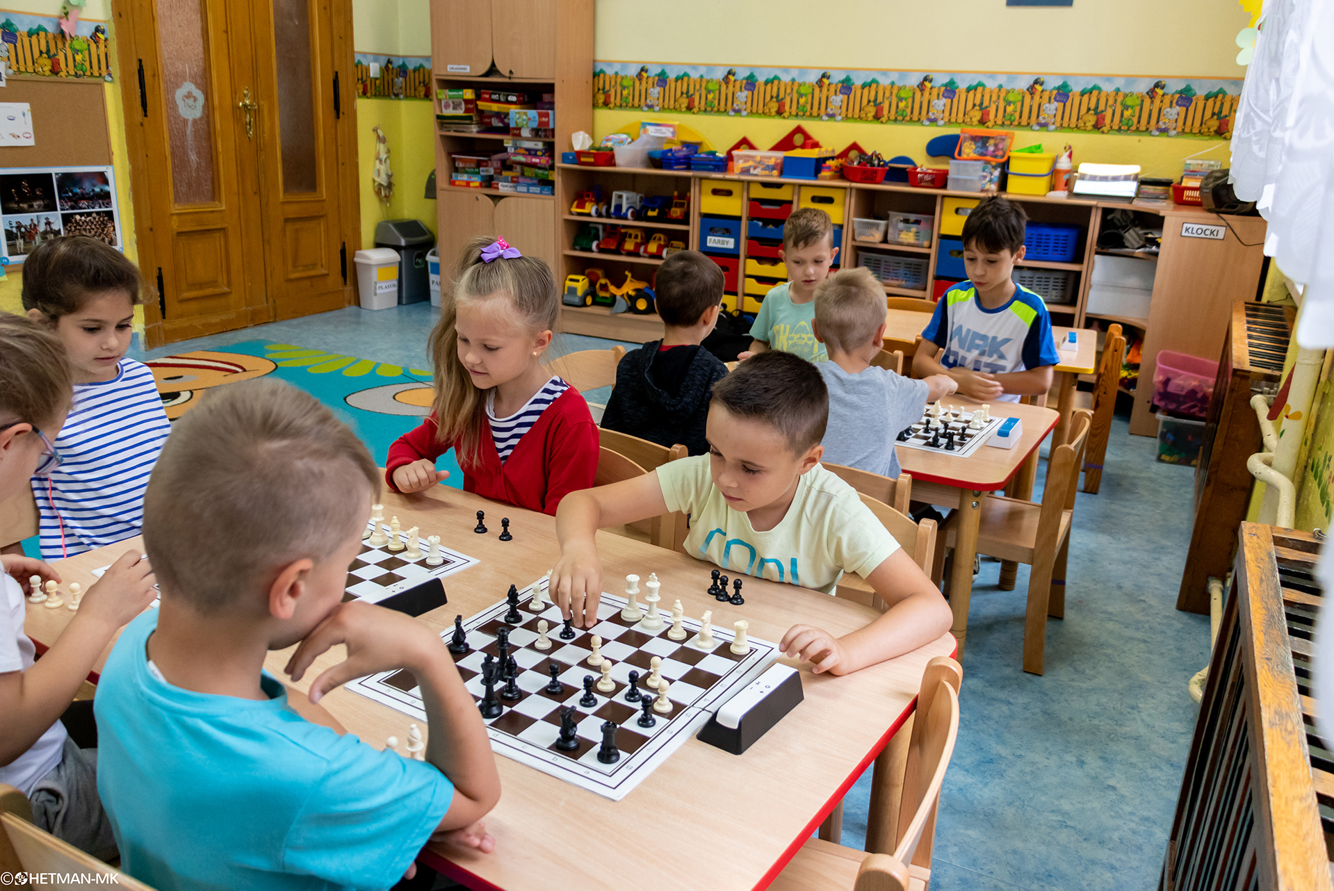 V Turniej Szachowy o Mistrzostwo Przedszkola Miejskiego Nr 1, Świdnica, 13.06.2018